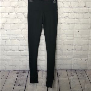 YogaLicious  leggings w/ slit for heals